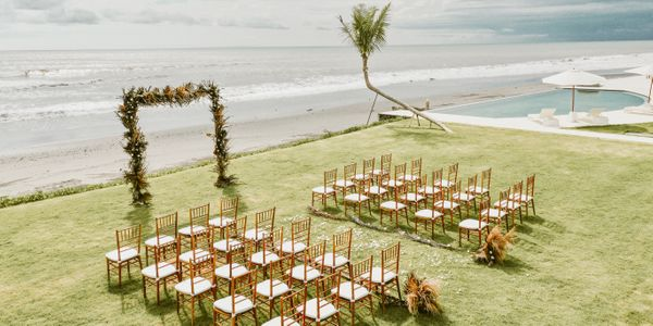 Bali Beach Glamping Wedding Package Up To 50 Pax