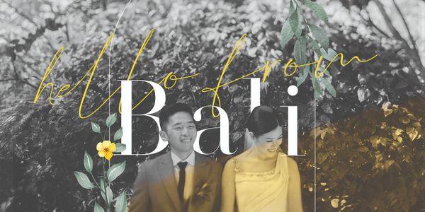 BALI WEDDING PLANNING SERVICE up to 50 pax