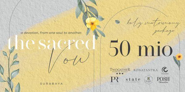 SURABAYA WEDDING PLANNING SERVICE - HOLY MATRIMONY PACKAGE