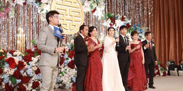 Anthony Stevven MC Wedding