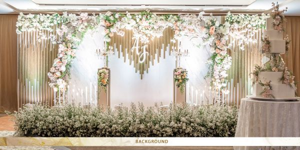 Clematis Wedding Decoration Package