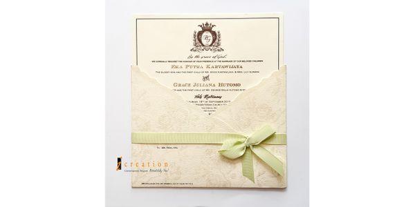 Custom Square Invitation