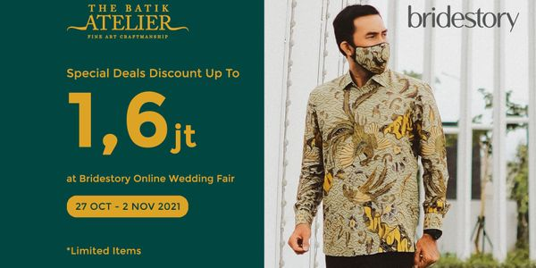 Family Package GOLD 2 - Special Deals Grooms + 2 father (3 Batik)