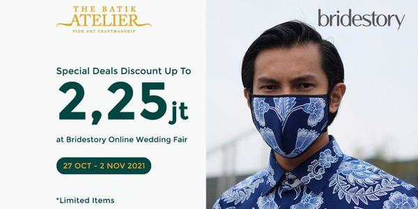 Family Package PREMIUM 1 - Special Deals Grooms + 2 father (3 Batik)