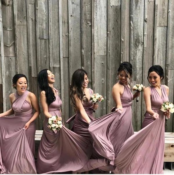 Upper East Bridesmaid - Luxury Infinity Convertible Dress