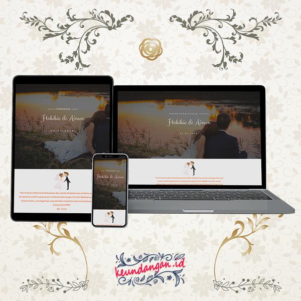 Website Wedding Invitation - DKN03