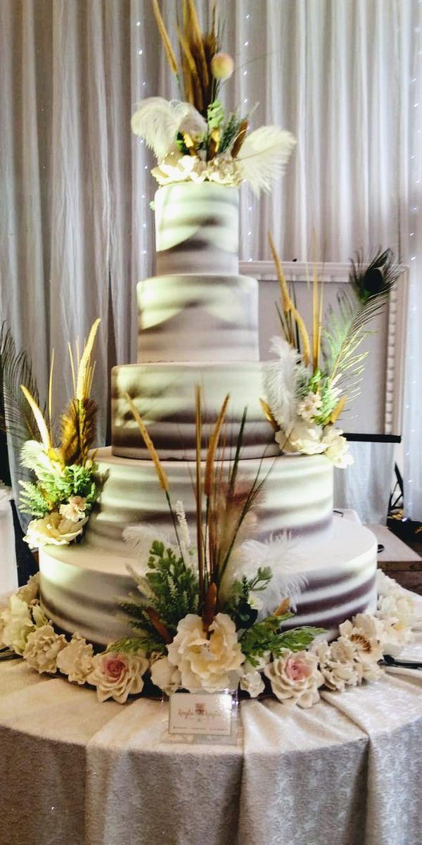 5 Tiers Wedding Cake II