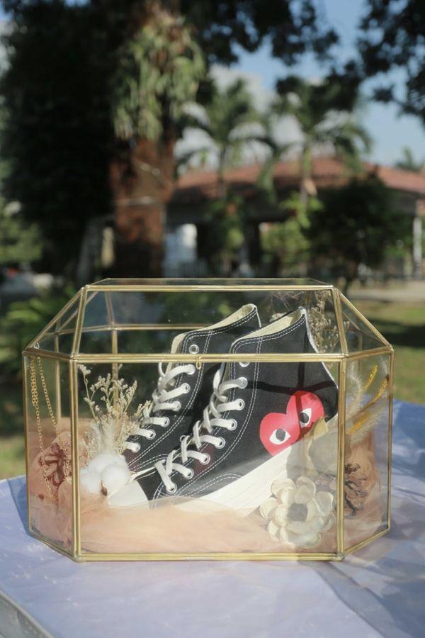 Rustic Glass Box