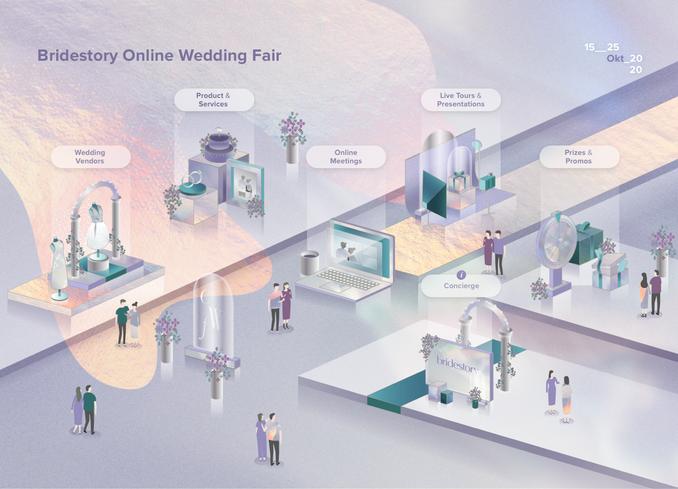 Panduan Lengkap Mengunjungi Bridestory Online Wedding Fair untuk Calon Pengantin Image 1
