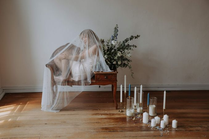 A Romantic Styled Shoot That Breathes Love and Serenity Image 7