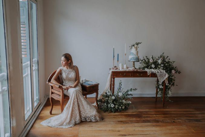 A Romantic Styled Shoot That Breathes Love and Serenity Image 17