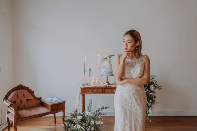 A Romantic Styled Shoot That Breathes Love and Serenity Image 19
