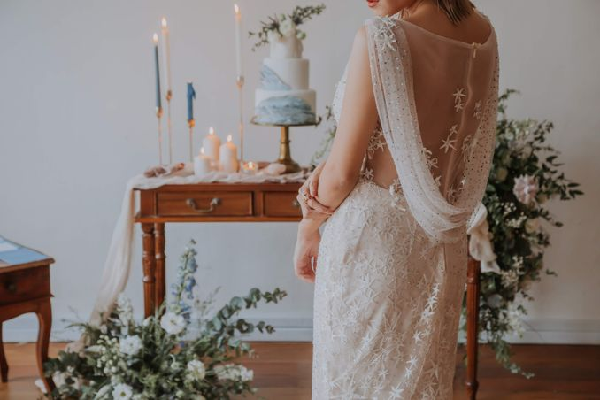A Romantic Styled Shoot That Breathes Love and Serenity Image 21