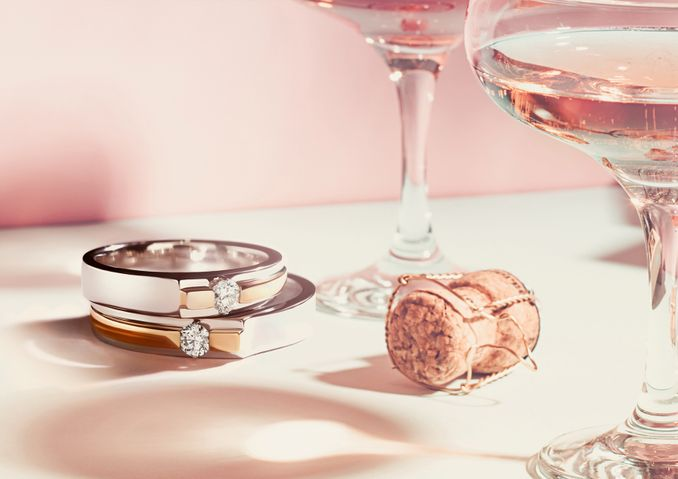 Pilihan Cincin Tunangan Hingga Cincin Kawin, serta Set Perhiasan yang Cocok untuk Berbagai Acara Spesial Image 3