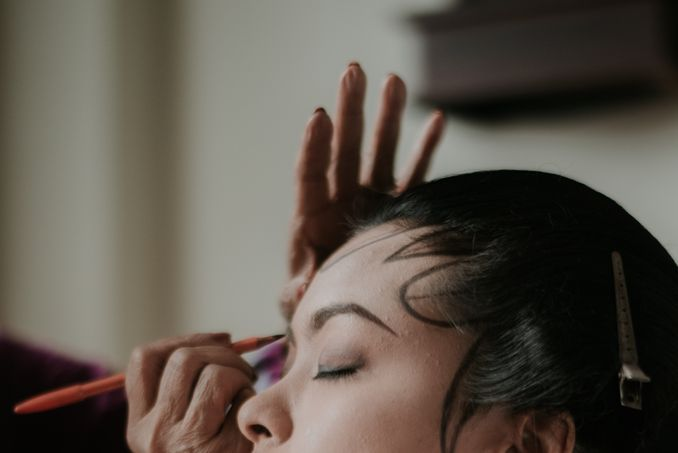 The Divine Meanings of Paes, The Central Javanese Bridal Makeup Image 8