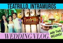 Teatrillo, Intramuros Wedding by Ingrid Nieto