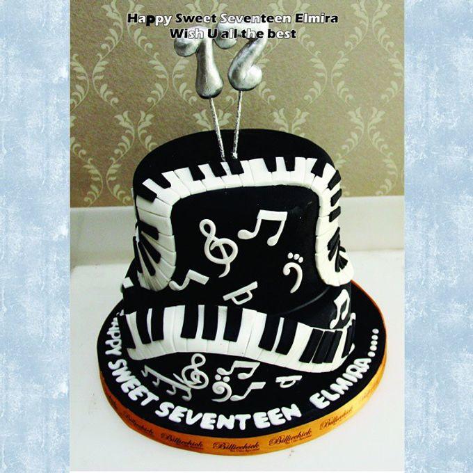 Birthday cake Custom by Billiechick Indonesia Bridestorycom