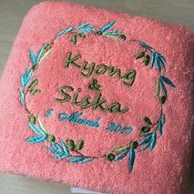 Saywee towel & souvenir