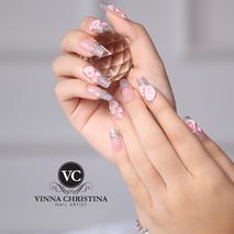 Vinna Christina Wedding Nails