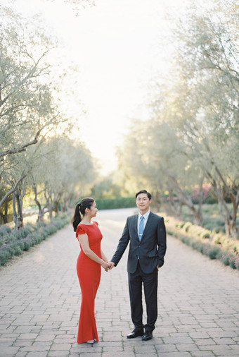 A Heartwarming Elopement with Chinese Traditions in California