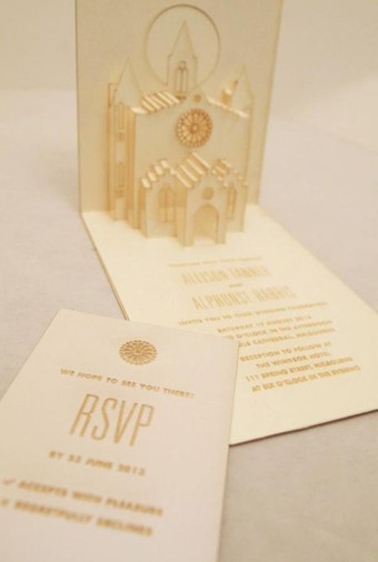 Onewed Pop Up Wedding Invitations For Your Super Fun Wedding   007