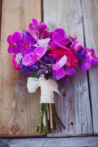 Jonathan And Lindsays Purple Themed Wedding In Sarasota Florida
