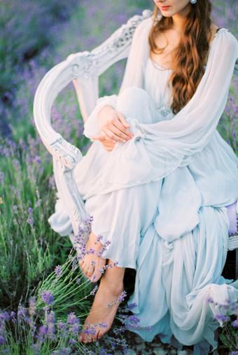 Inspirasi Pemotretan Memesona Di Kebun Lavender - 009