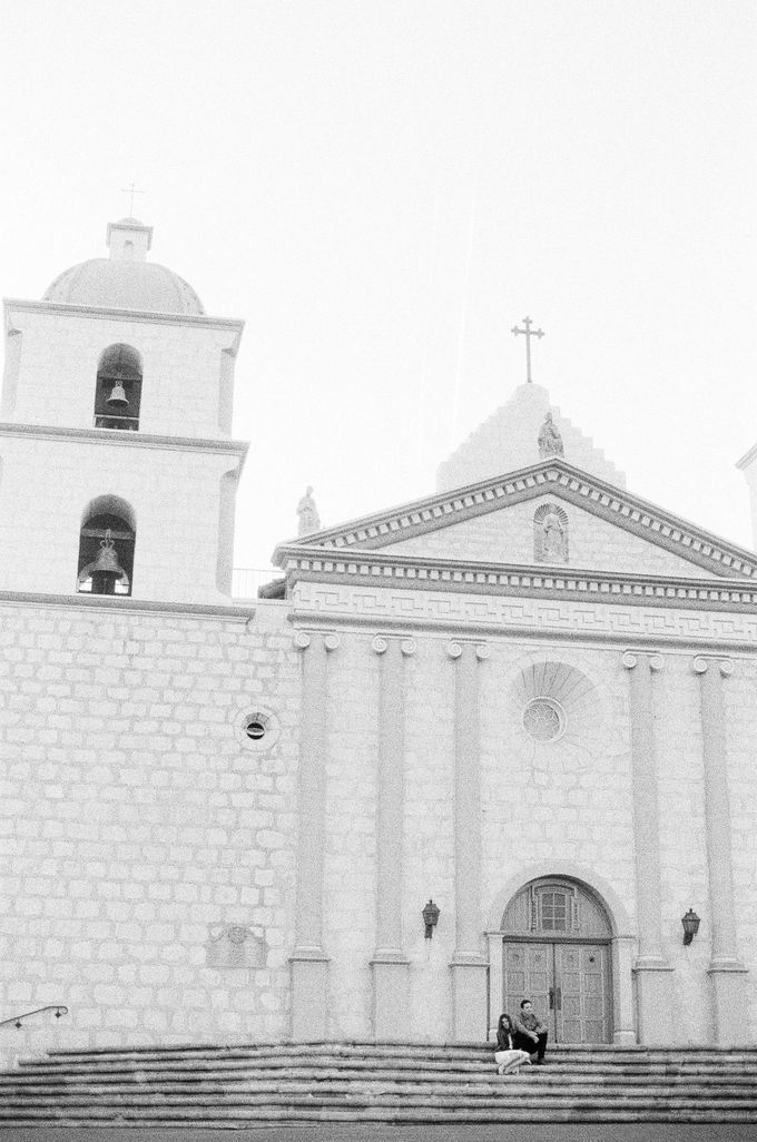 Santa Barbara Historic Mission Engagement Shoot by Jen Huang Photo - 020