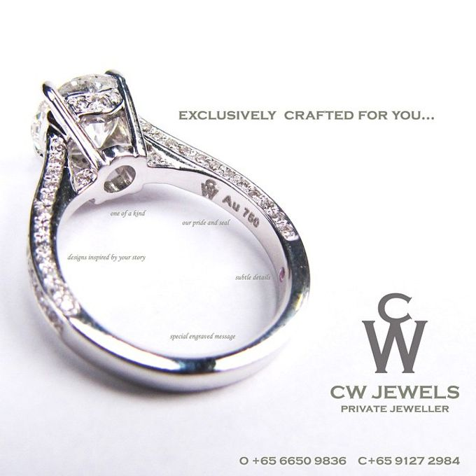 Engagement Rings by CW Jewels - 043