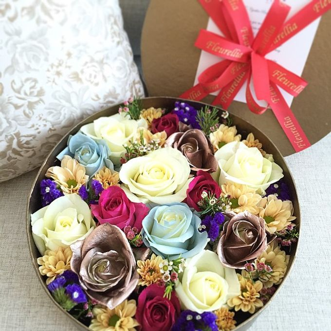 aurel boîte de fleursfleurelliaaurellia   bridestory