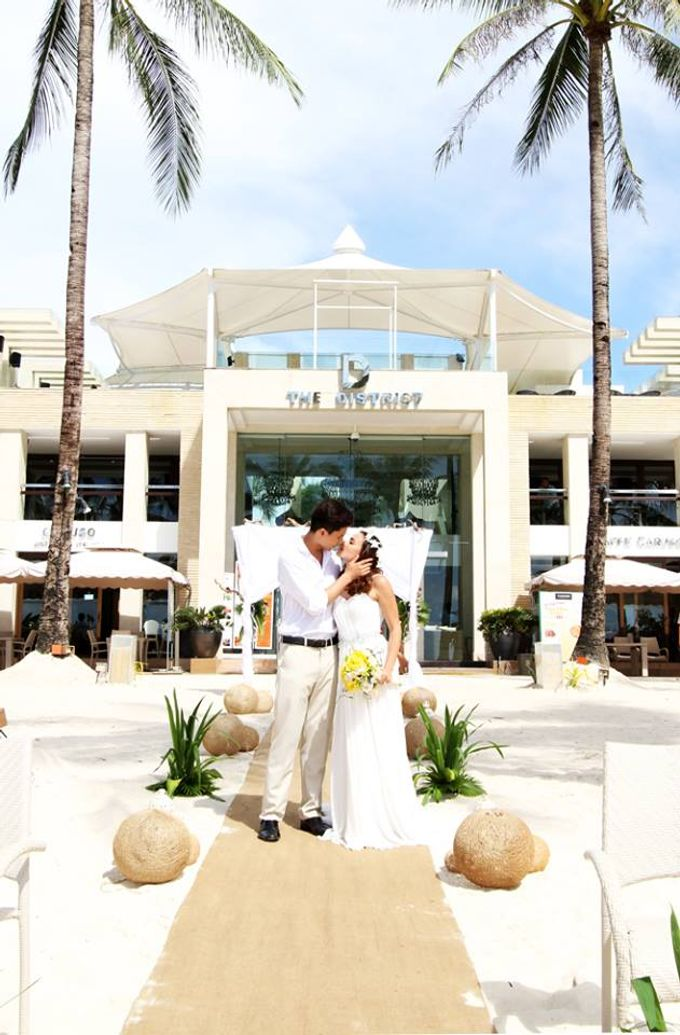Beach Wedding at The District Boracay by The District Boracay - 010