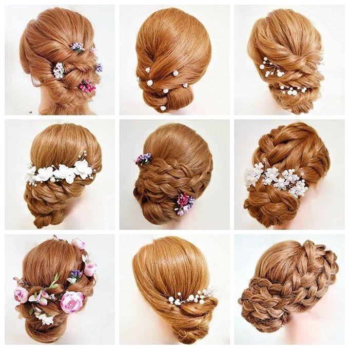 Bun & Chignon Hairstyles by Après Makeup - 012