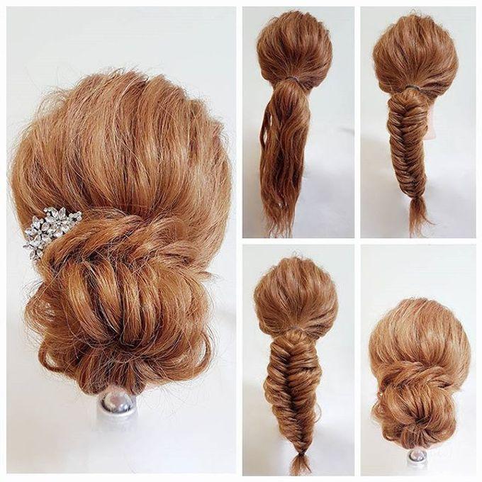 Bun & Chignon Hairstyles by Après Makeup - 009