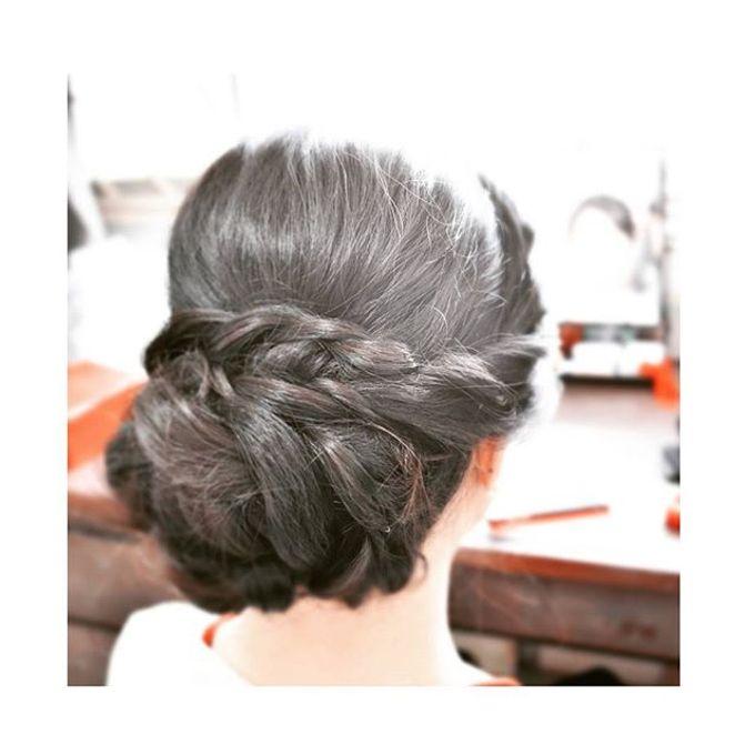 Bun & Chignon Hairstyles by Après Makeup - 006