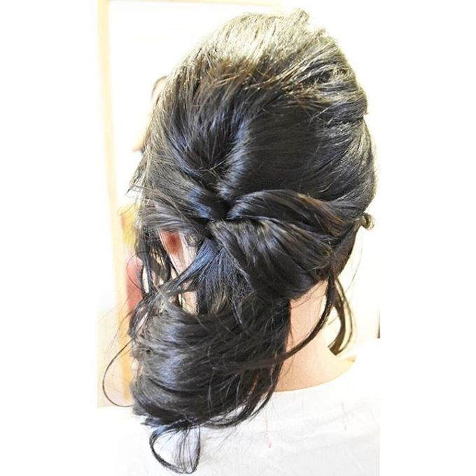 Half Up & Let Down & Pony Bridal Hairstyles by Après Makeup - 004