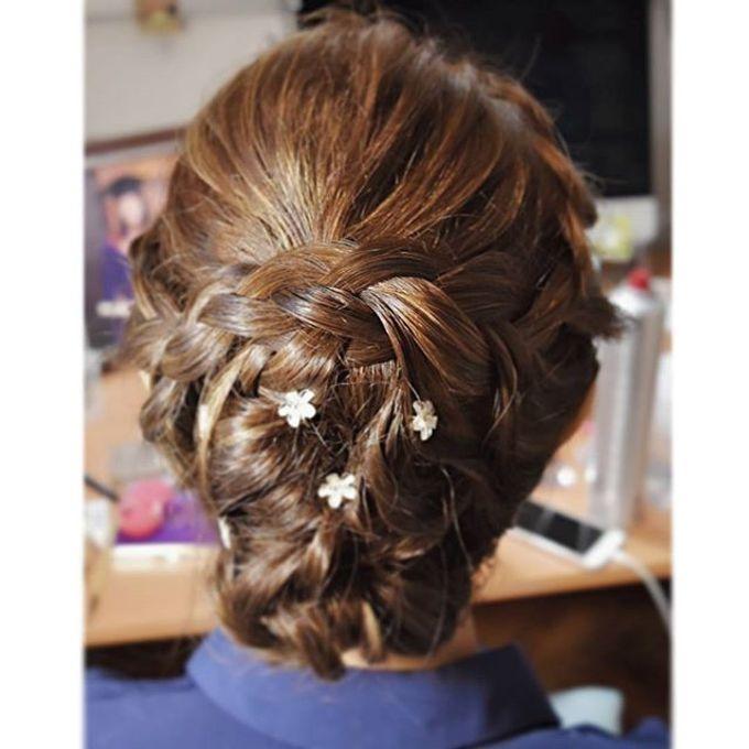 Bun & Chignon Hairstyles by Après Makeup - 003
