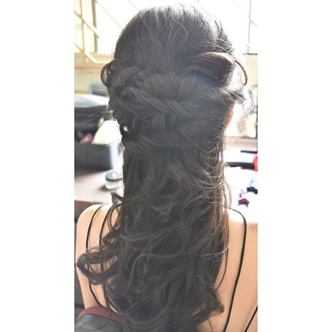 Half Up & Let Down & Pony Bridal Hairstyles by Après Makeup - 002
