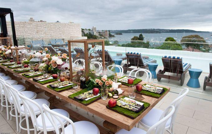 Add To Board Iconic Sydney Breakfast PR Event By JASON JAMES DESIGN