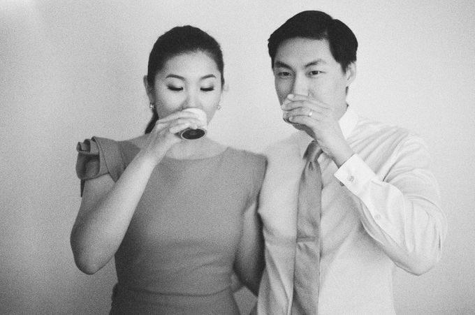 Chinese Tea Ceremony & Wedding in the Lavender Gardens of San Ysidro Ranch by Jen Huang Photo - 001