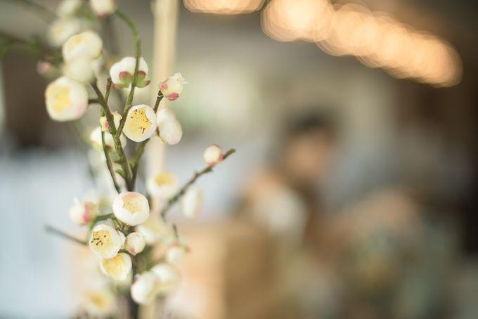 Oriental Zen Wedding Styling l ShawnxHeon by Cinderella Dream - 001