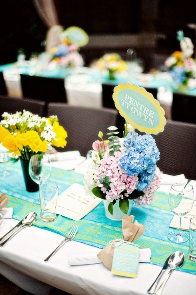Decoration - Long tables set-up by Spellbound Weddings - 005