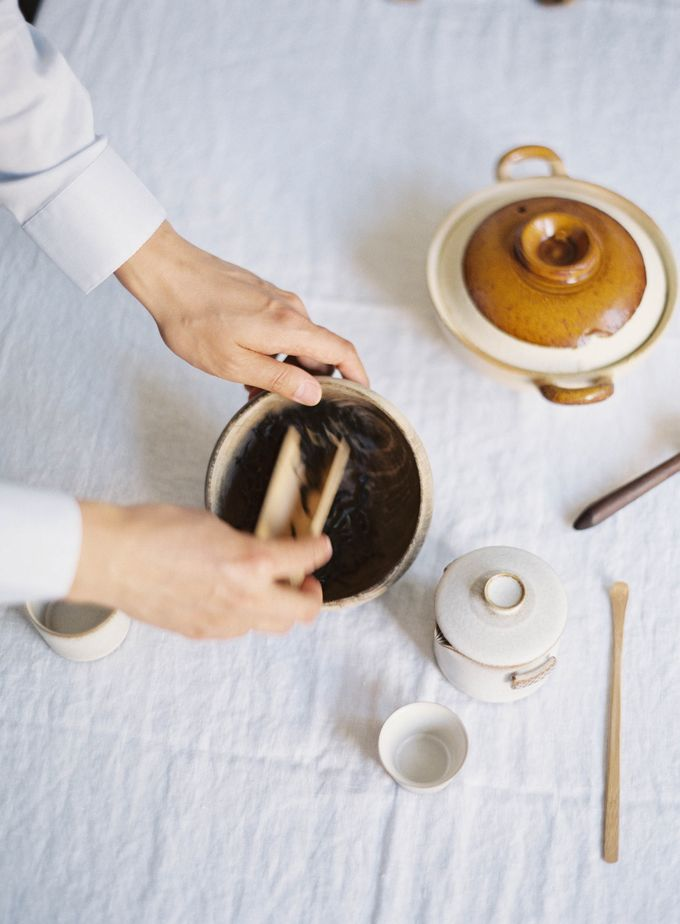 Chinese Tea Ceremony & Wedding in the Lavender Gardens of San Ysidro Ranch by Jen Huang Photo - 018