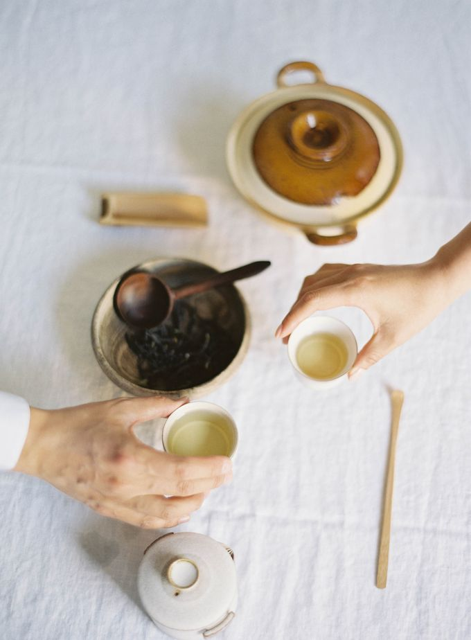 Chinese Tea Ceremony & Wedding in the Lavender Gardens of San Ysidro Ranch by Jen Huang Photo - 023