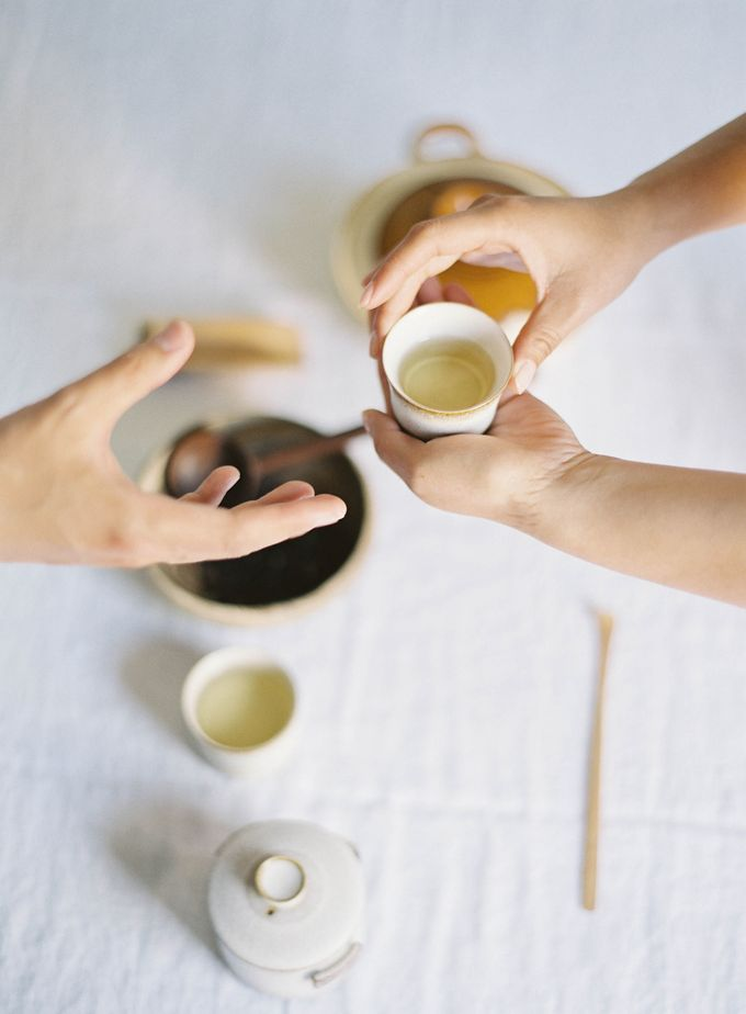 Chinese Tea Ceremony & Wedding in the Lavender Gardens of San Ysidro Ranch by Jen Huang Photo - 024