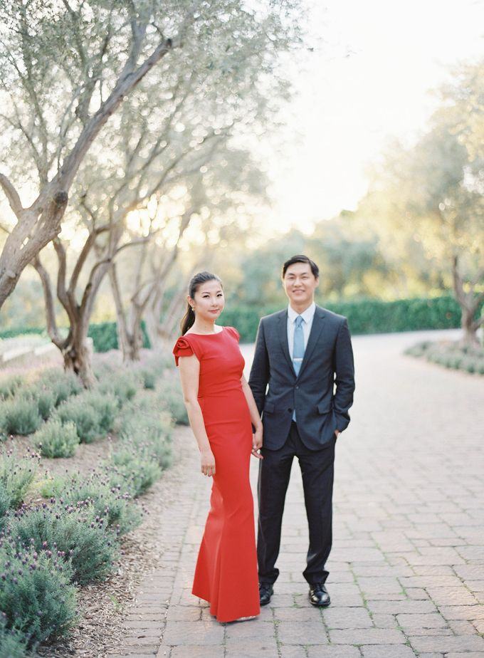Chinese Tea Ceremony & Wedding in the Lavender Gardens of San Ysidro Ranch by Jen Huang Photo - 026