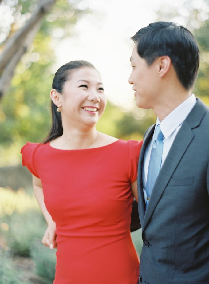 Chinese Tea Ceremony & Wedding in the Lavender Gardens of San Ysidro Ranch by Jen Huang Photo - 029