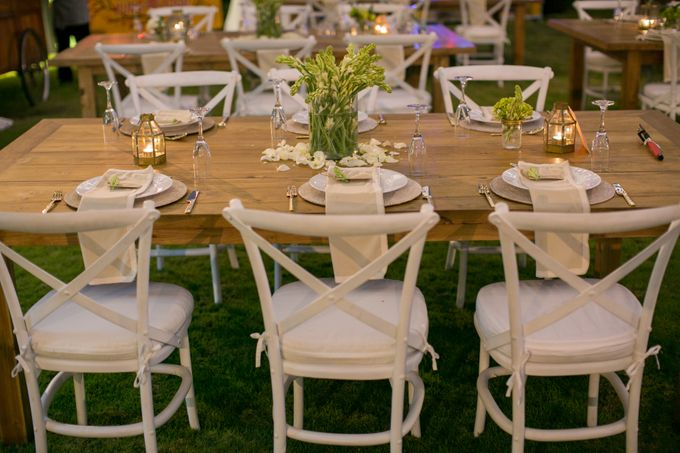 Garden Wedding By Bali Event Hire Bridestorycom - Chair hire for weddings
