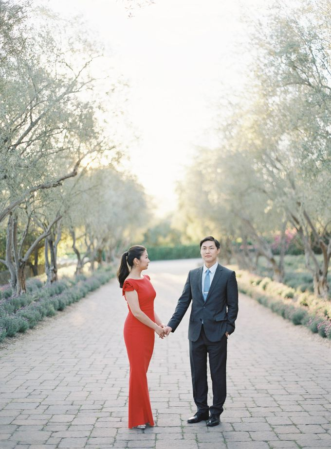 Chinese Tea Ceremony & Wedding in the Lavender Gardens of San Ysidro Ranch by Jen Huang Photo - 033