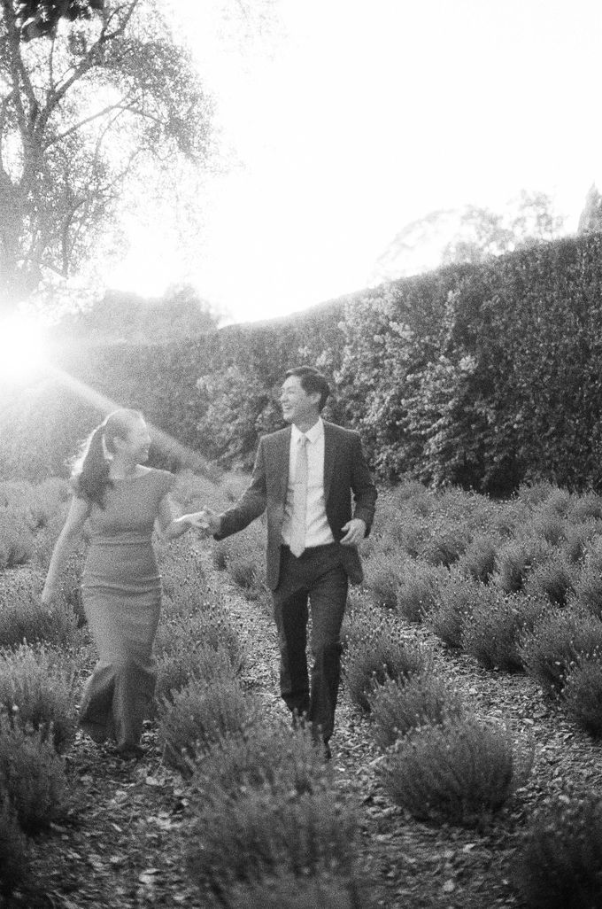 Chinese Tea Ceremony & Wedding in the Lavender Gardens of San Ysidro Ranch by Jen Huang Photo - 004