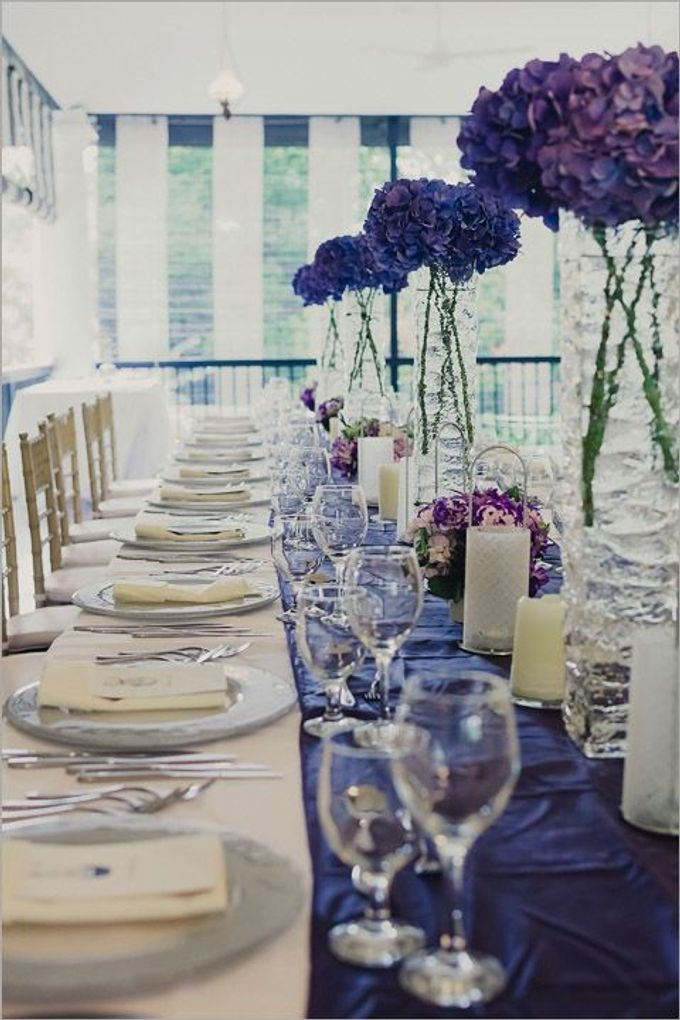 Decoration - Long tables set-up by Spellbound Weddings - 003
